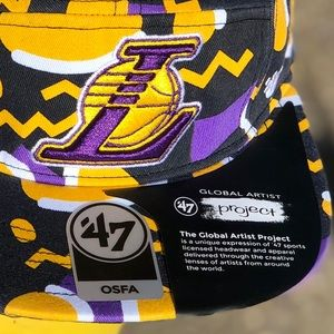 Accessories - Los Angeles Lakers NBA 5-Panel Hat - '47 Brand